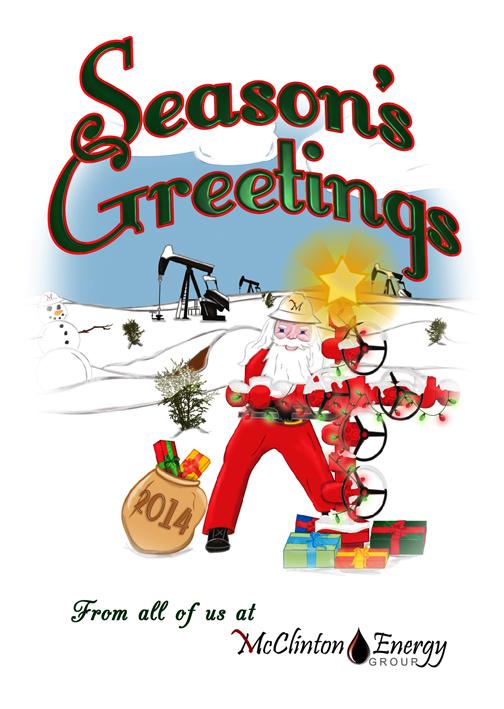 McClinton Energy Group 2014 Christmas Card